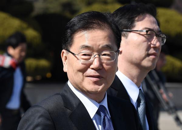South Korean president names top security adviser as envoy to DPRK