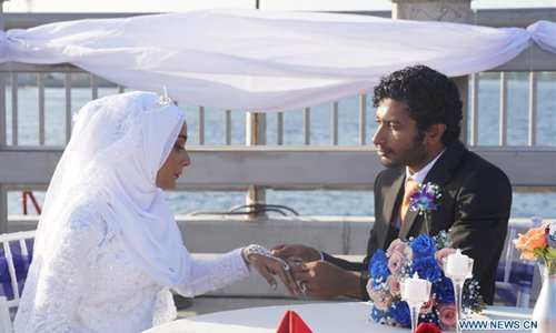 Conjugal bonds sanctify concrete bond on China-Maldives Friendship Bridge