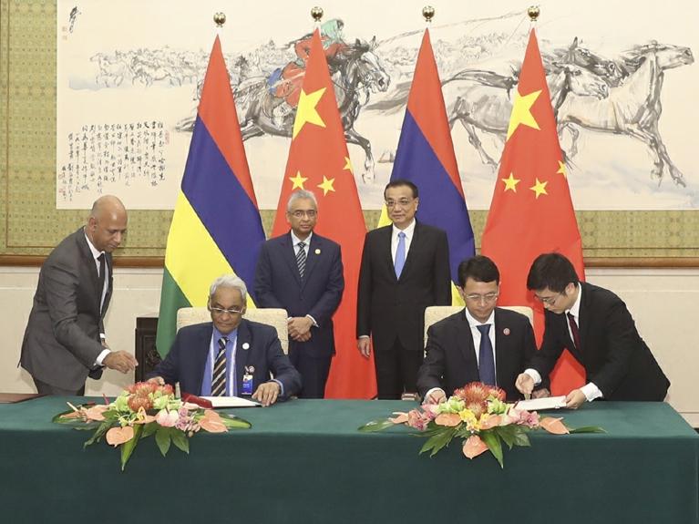China, Mauritius set to sign free trade agreement
