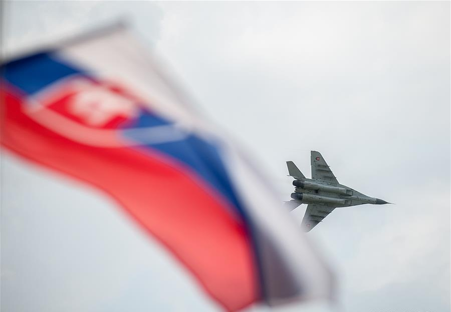 2018 Slovak Int'l Air Fest kicks off at Sliac airport, central Slovakia