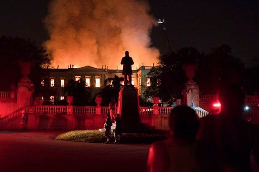 Brazil mourns as nation's history goes up in flames
