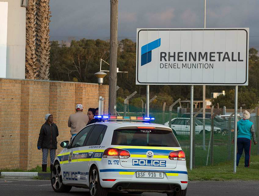 8 killed in munitions depot blast in South Africa
