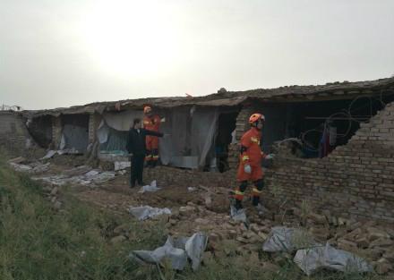 5.5-magnitude quake hits Xinjiang: CENC