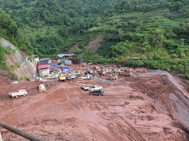 All eight confirmed dead from China mudflow