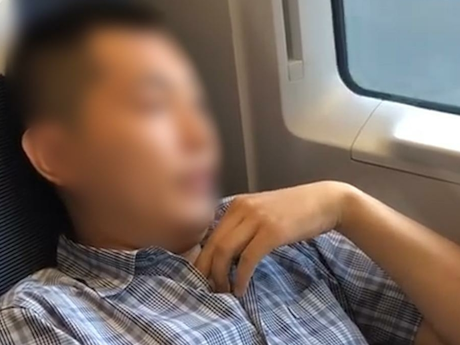 Chinese man banned from riding trains over misdeeds