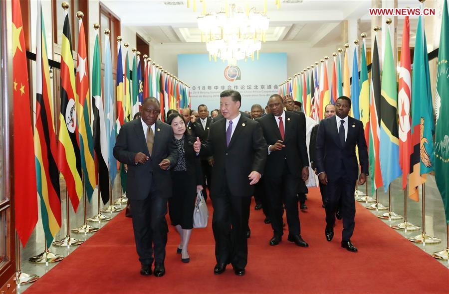 The fundamental difference between China's and the West's policy toward Africa