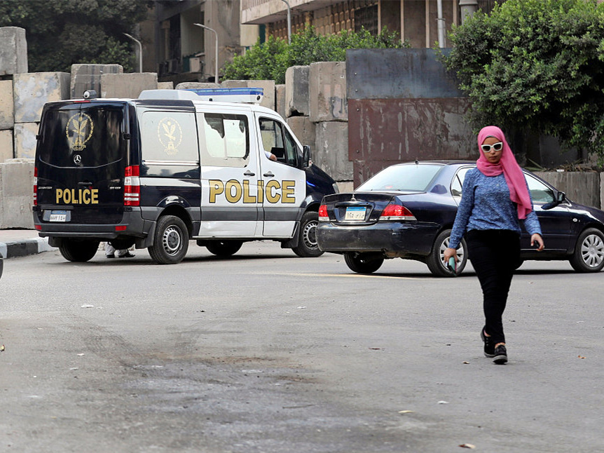 Man detained after explosion near US embassy in Cairo
