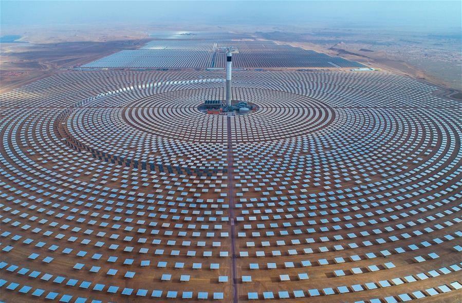 Noor solar energy complex in Morocco