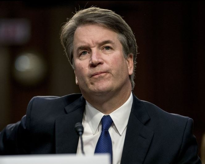 Chaos marks start of Kavanaugh confirmation hearing