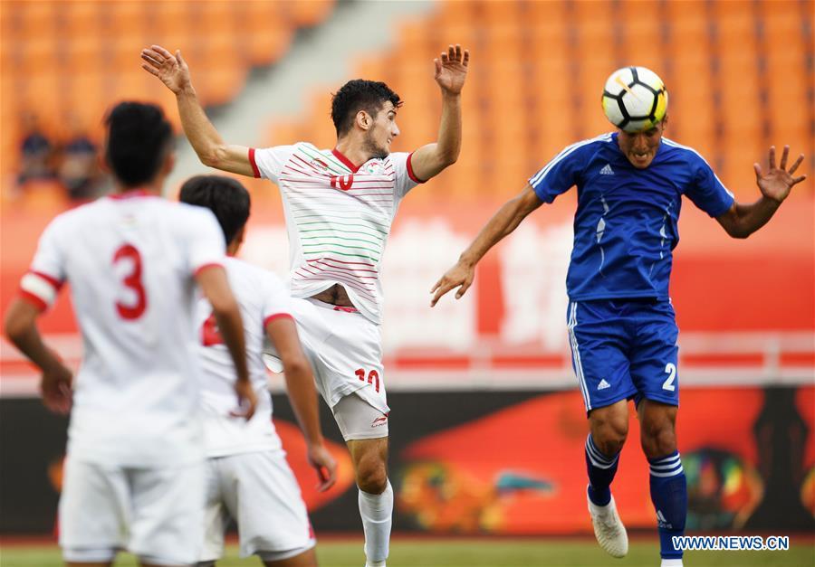 Uzbekistan beats Tajikistan 1-0 at CFA Team China Int'l Youth Football Tournament