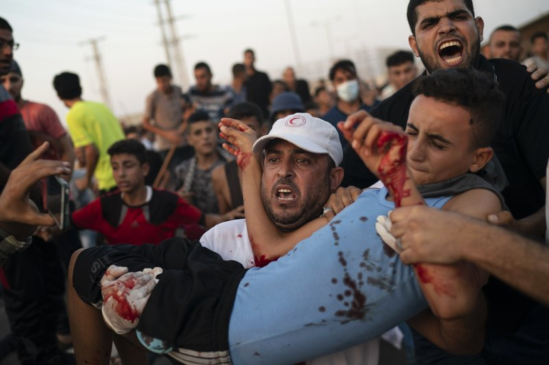 Israeli fire wounds protesters near Gaza crossing