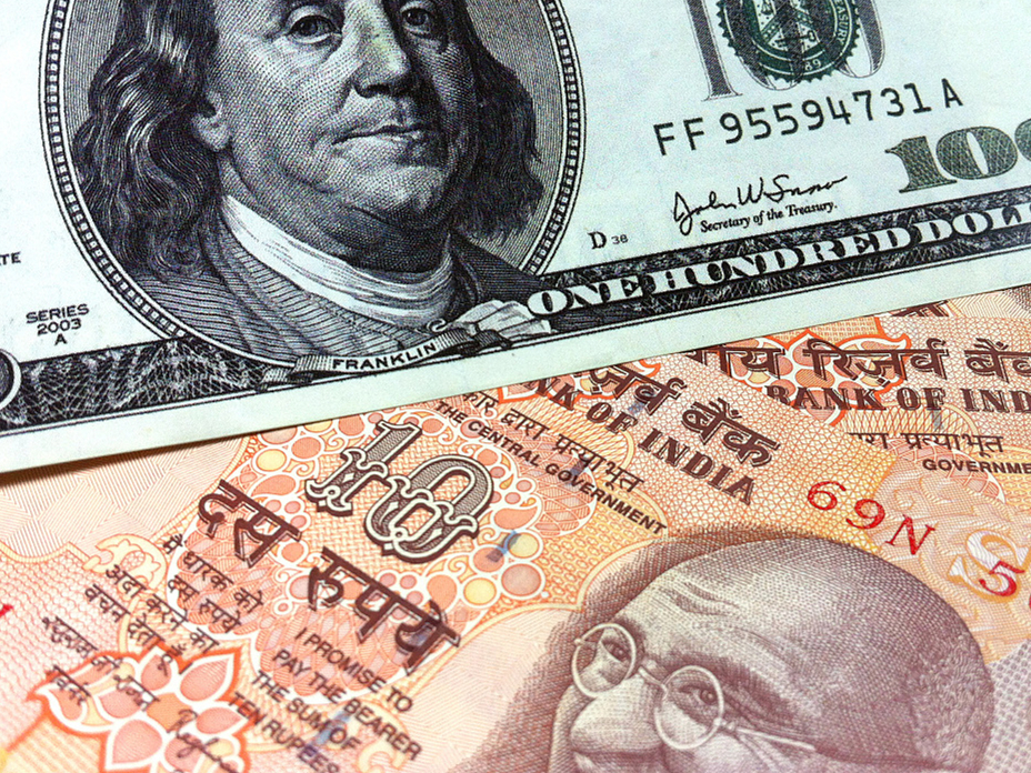 Indian rupee hits all time low against USD