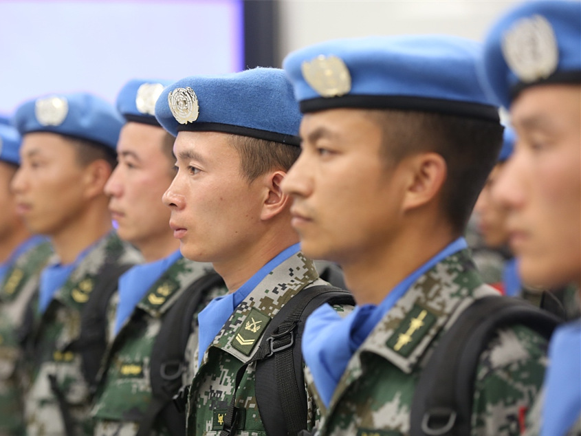 China to send 268 peacekeepers to South Sudan