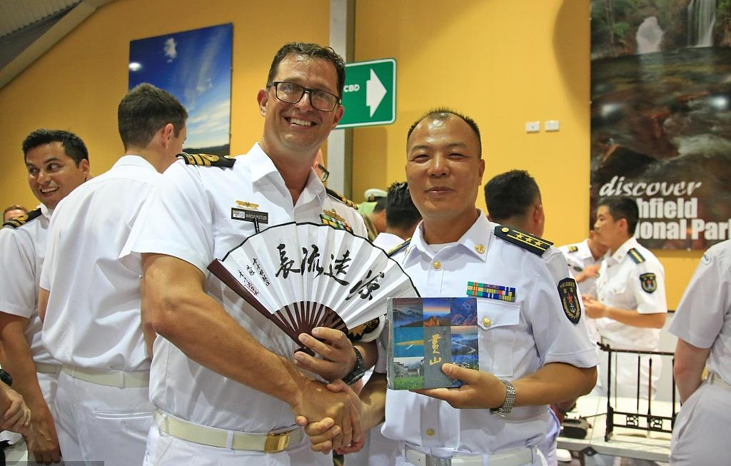 China's navy takes part in Australian military cultural festival