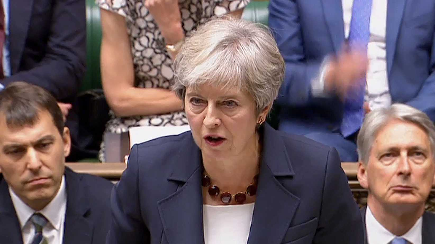 May: Men charged with nerve agent attack were Russian intelligence officers