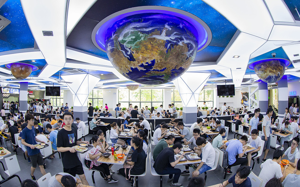 University turns canteen into whole new universe