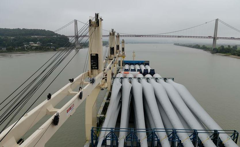 China's Arctic cargo ship Tian'en arrives in France