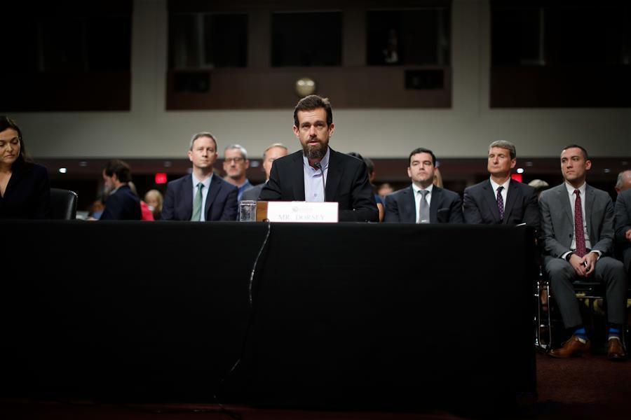 Twitter CEO testifies before Senate Intelligence Committee in Washington D.C.