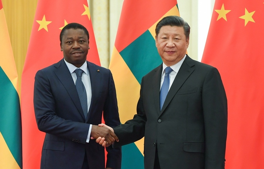 Xi meets Togolese president