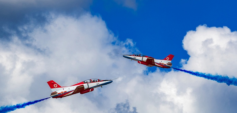 Highlights in aviation open day activities at PLA Air Force Aviation University
