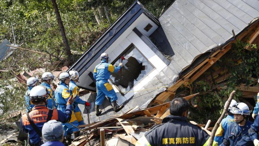 Big quake hits northern Japan, leaving 9 dead, 30 missing