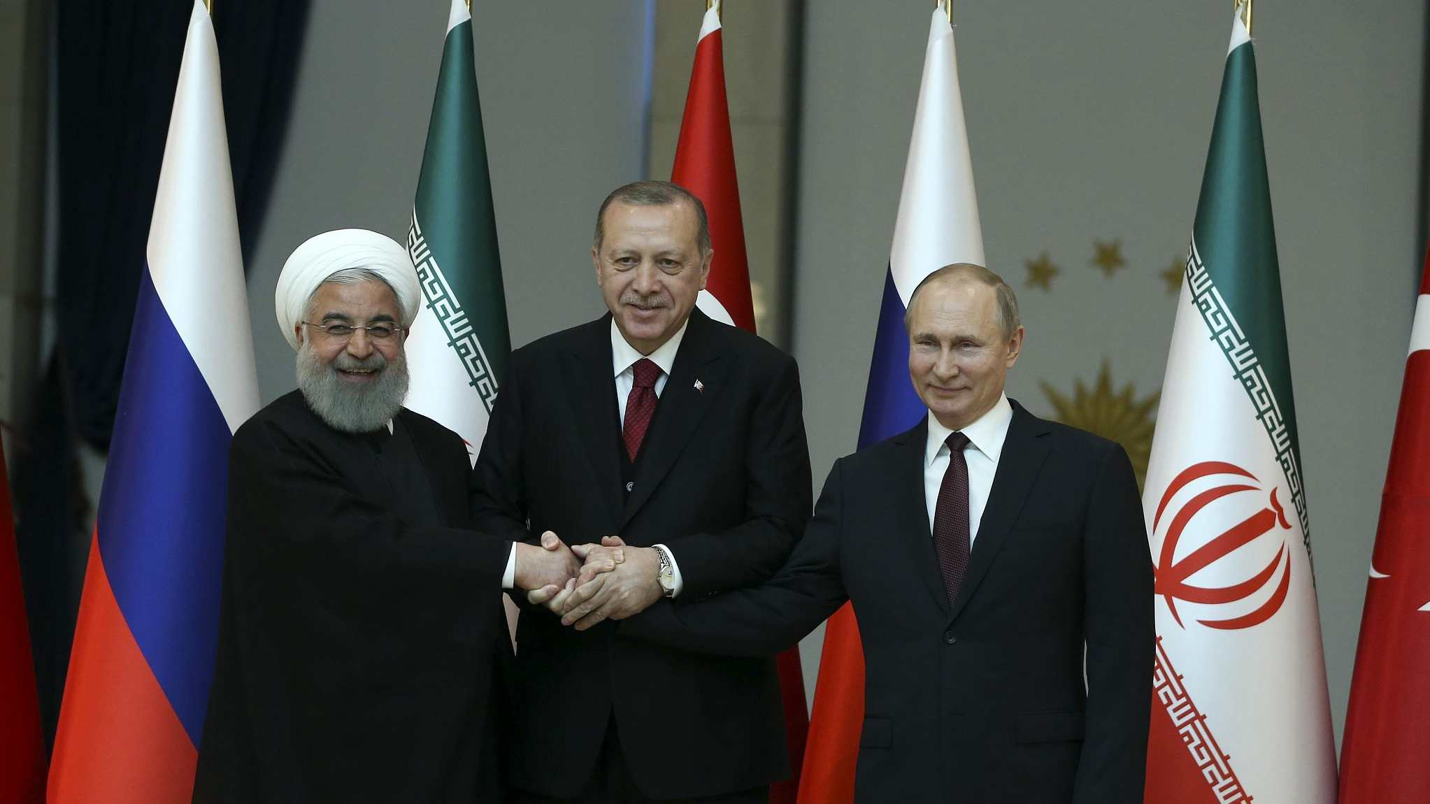 Opinion: Tehran Summit: A cul-de-sac for terrorists in Syria