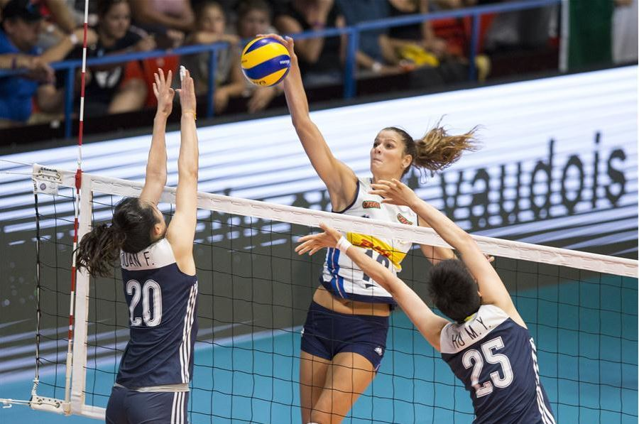 Italy beat China in straight sets at Montreux Volley Masters