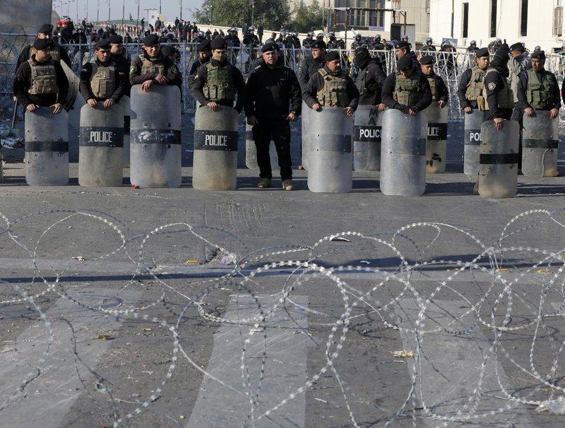Three mortars land inside Baghdad's Green Zone, no casualties