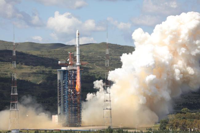China launches new marine satellite
