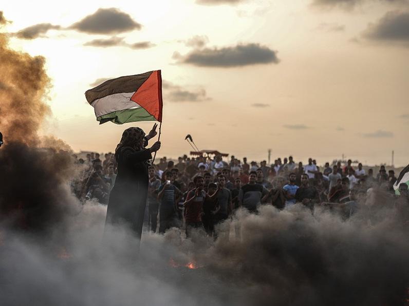 2 Palestinians injured in Israeli missile attack: medics