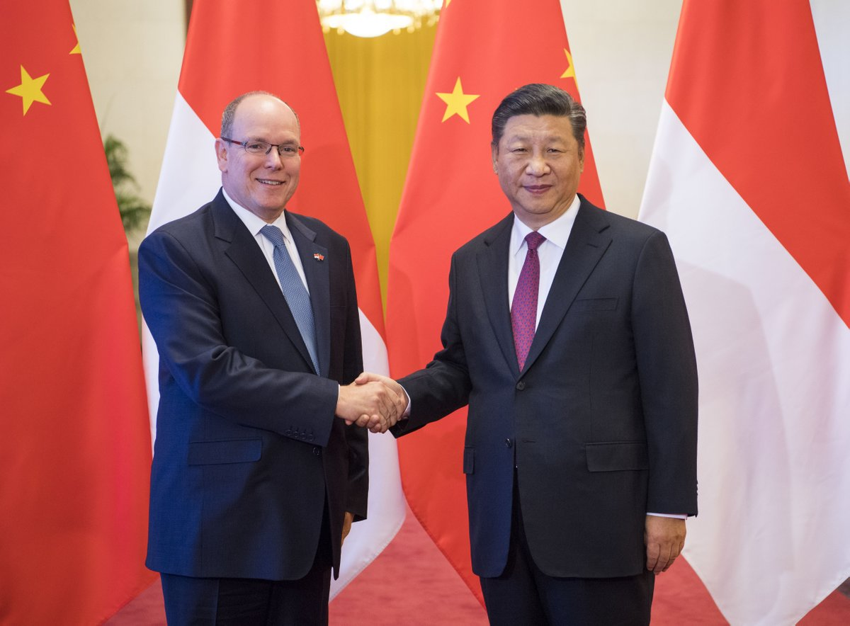 China, Monaco agree to further push forward bilateral ties