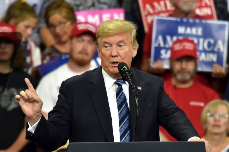 Impeachment would be 'your fault because you didn't go out to vote,' Trump tells Montana rally