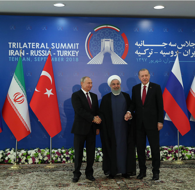 Tehran summit underscores political solution to Syria crisis
