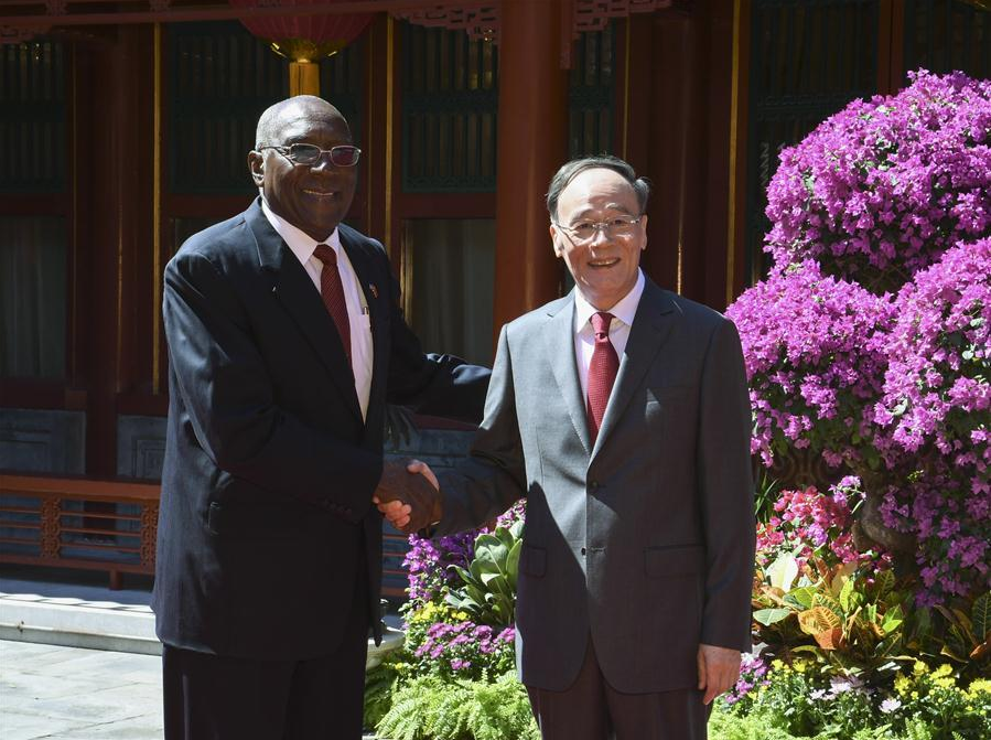 Chinese vice president meets with first vice president of Cuba