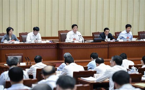 China's top legislator urges effort in legislation work