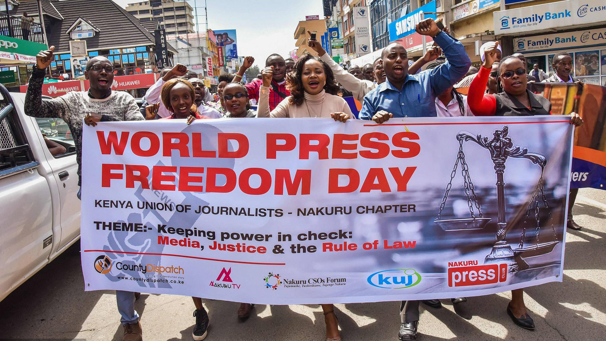 Kenya Union of Journalists condemns raid on Chinese broadcaster