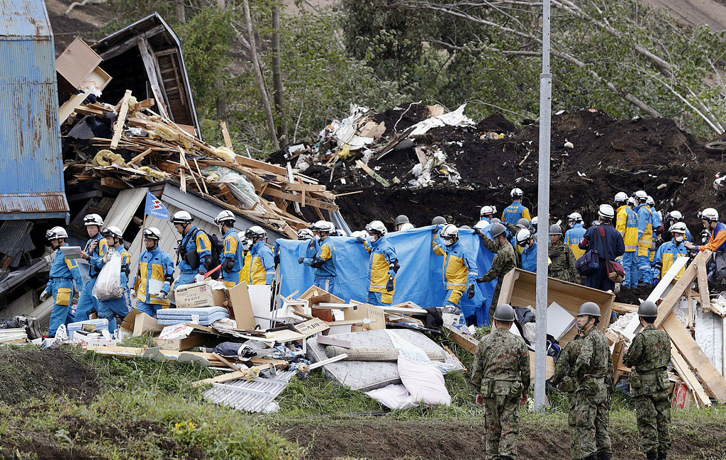Death toll rises to 21 in wake of powerful quake at Japan's Hokkaido