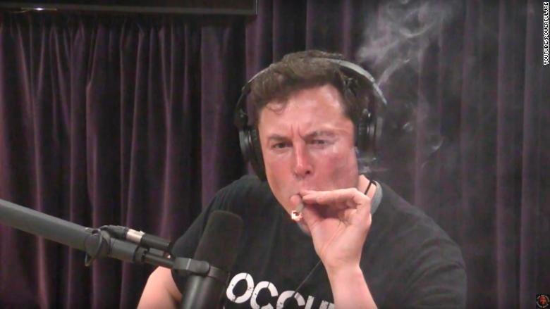 Tesla stock falls as CEO appears to smoke marijuana on video