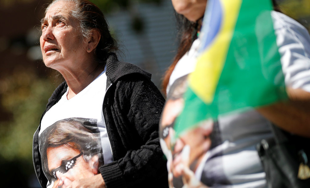 Brazilian police investigate 3 persons in attack on presidential candidate