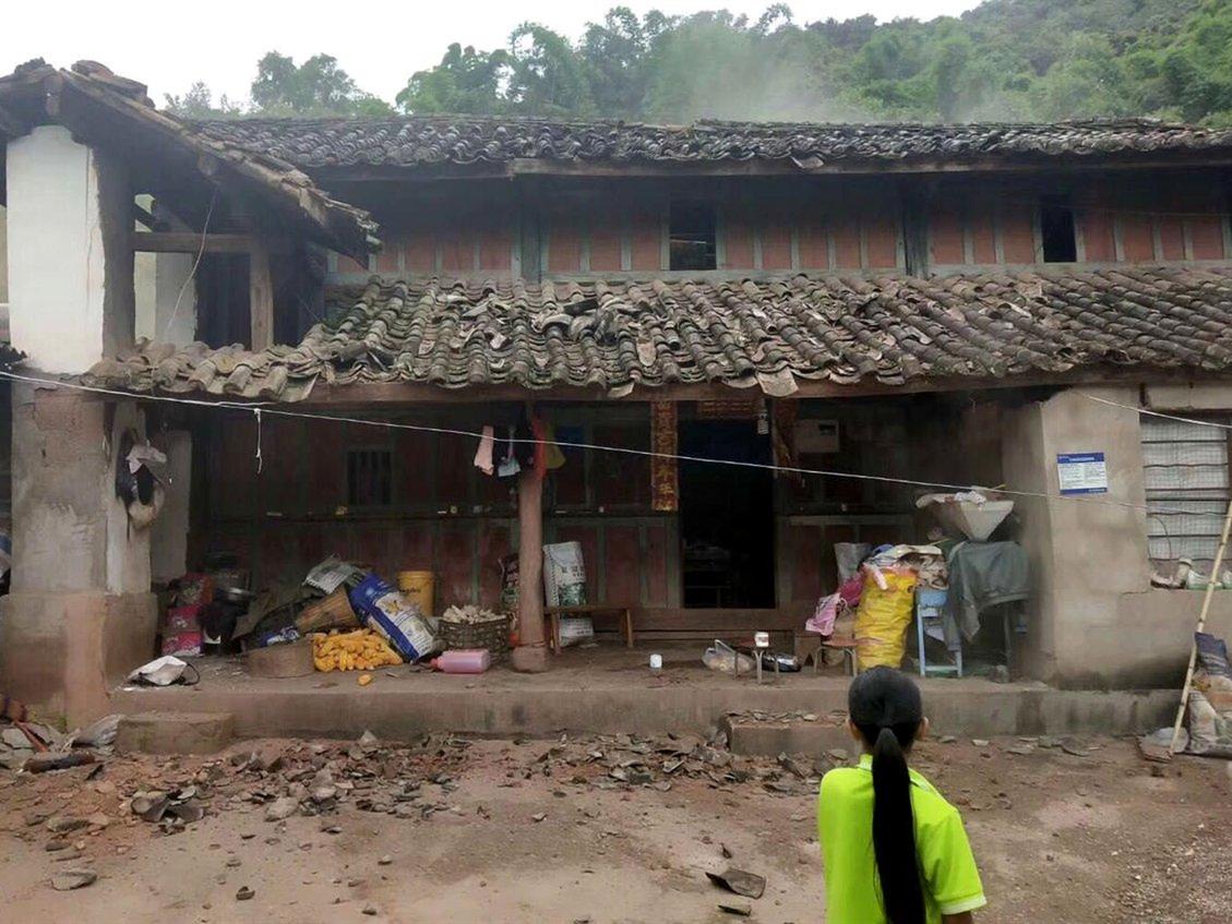 Yunnan 5.9-magnitude quake injures 14