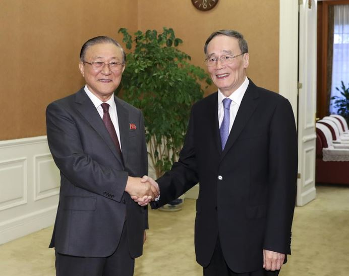 Chinese vice president attends North Korea's 70th anniversary reception