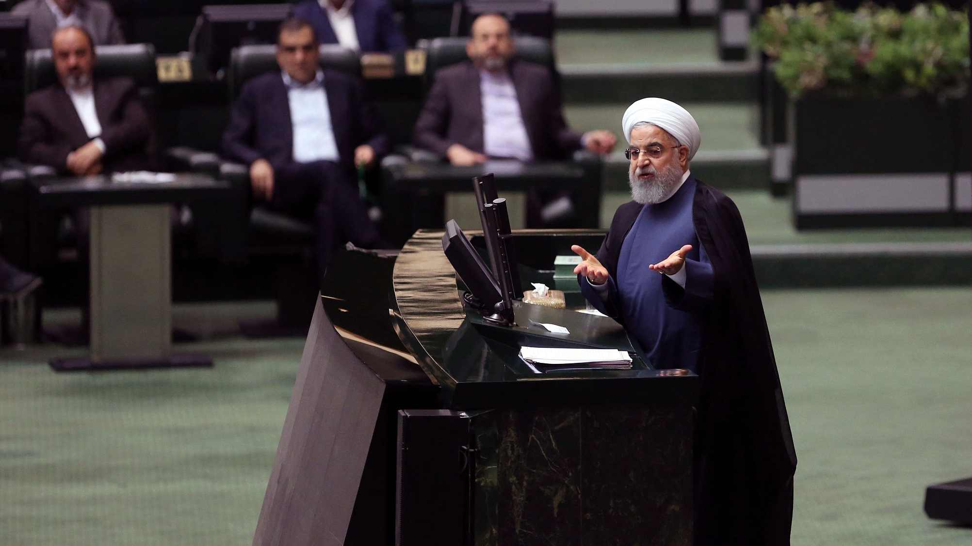 Rouhani: US sends Iran messages 'every day' to begin negotiations