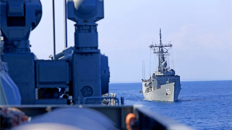 China participates in Australia-led joint maritime drill