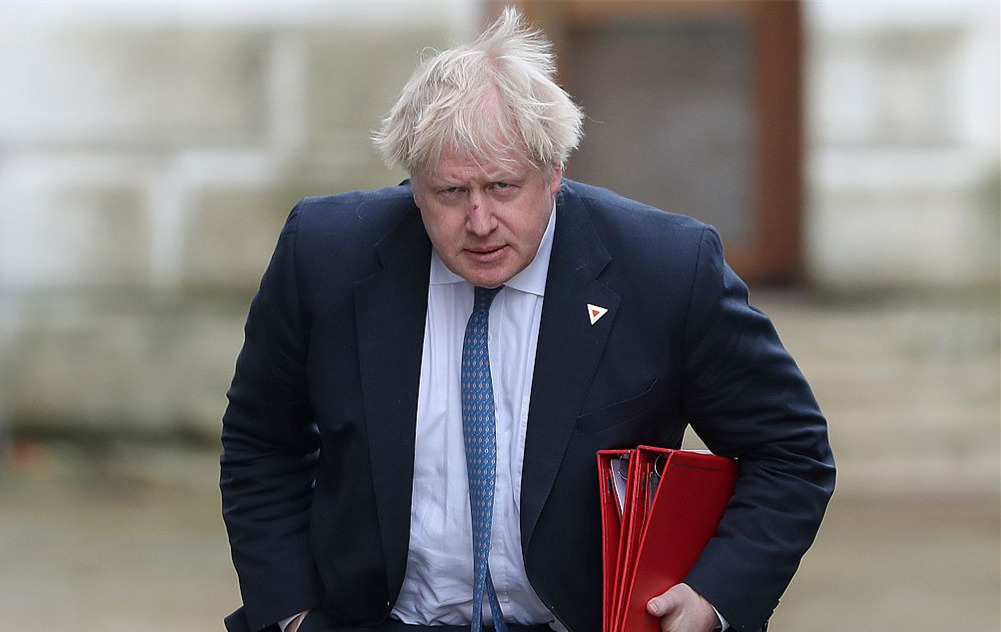 Boris Johnson calls May's Brexit plan 'suicide vest'