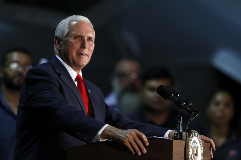 US Vice President: I'm confident no one on my staff wrote the NYT column