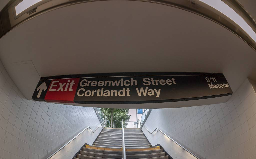 New York City reopens subway station destroyed in 9/11