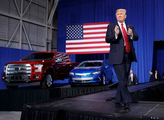 Ford slams Trump, says it won't build Chinese-made car in US