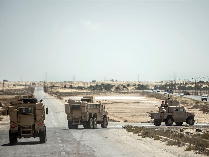 Egyptian police kill 11 terrorists in Sinai shootout