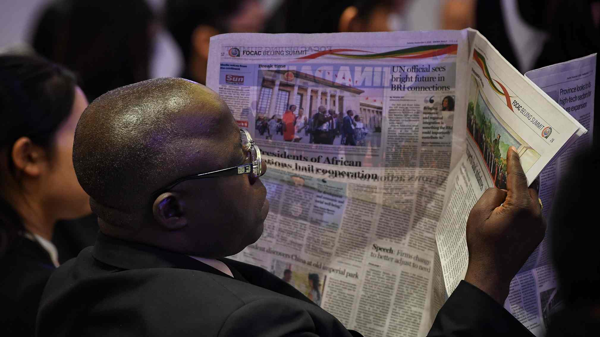 Chinese, African media discuss roles in building shared future