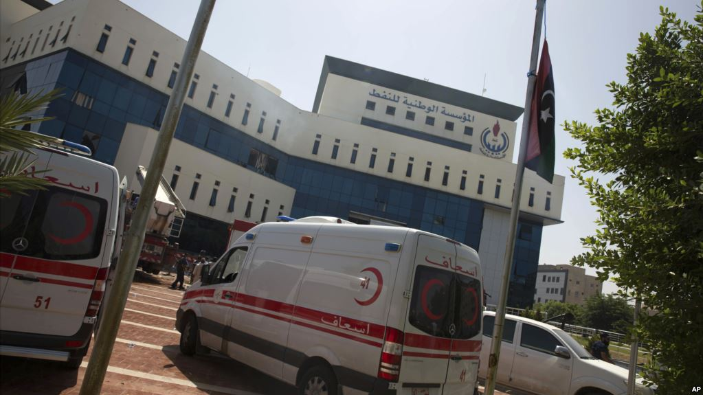 Libyan security takes control of oil corporation headquarters following armed attack